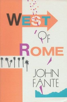 """'West of Rome' 1986, John Fante """"I could sit on the grass with Stupid and believe every word of it. Sometimes as I sat there he would rise up and put his paws on my shoulders and try to screw me. So he loved me. How else could he express it? Write a poem, gather roses? I whacked him with an elbow, and that brought him down. Rocco had loved me too, and expressed it by biting my shoes, or tearing apart something I owned, a shirt, a pair of socks, my hat, or, unhappily, the grips on the golf…"""