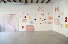 Sabine Finkenauer, 'Sabine Finkenauer´s Studio. Barcelona'