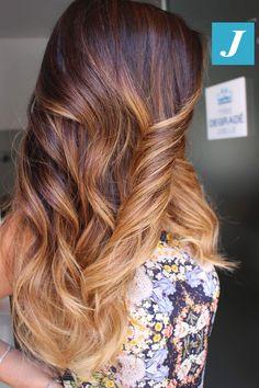 Fall Shades  Degradé Joelle  #cdj #degradejoelle #tagliopuntearia #degradé #igers #musthave #hair #hairstyle #haircolour #longhair #ootd #hairfashion #madeinitaly #wellastudionyc