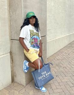 Baddie Outfits Casual, Cute Swag Outfits, Simple Outfits, Casual Trends, Clothes Pictures, Black Women Fashion, Teenager Outfits, Teen Fashion Outfits, Types Of Fashion Styles