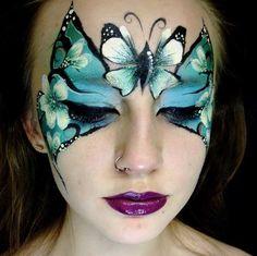 Lori's creations stunning butterfly mask