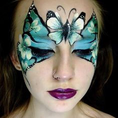 Lori's creations stunning butterfly mask