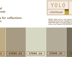 STONE Color Family