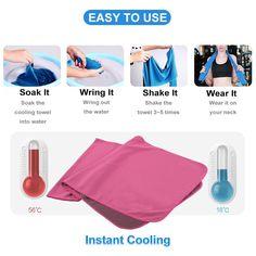 U-pick Cooling Towel