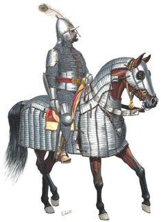 Sipahi, or cavalry soldier, Ottoman Empire. Empire Memes, Empire Ottoman, Ottoman Turks, Horse Armor, Turkish Army, Armadura Medieval, Landsknecht, Medieval Fantasy, Military History