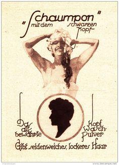 Original-Werbung/ Anzeige 1926 - SCHAUMPON VON SCHWARZKOPF - ca. 100 x 135 mm