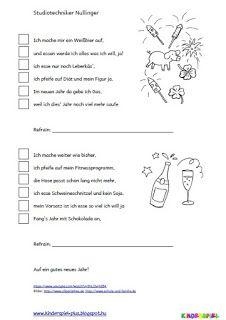 Kinderspiel Plus: Neujahr - Textverstehen