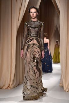 Valentino Spring 2015.  See the best looks from Couture Week here: