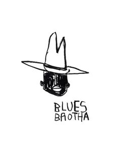 Blues Brotha Art Print by Stephen Anthony Davids at King & McGaw