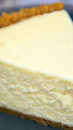 The Best Homemade Cheesecake.