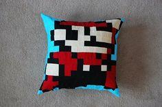 Super Mario Decorative Pillow - READY TO SHIP