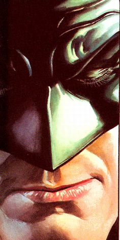 Batman from Justice #8 by Alex Ross