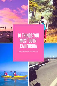 10 things you must do in California! Features Ventura, Channel Islands, Santa Barbara, Solvang, Oakland and San Francisco!