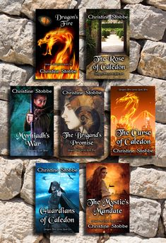 Seven of ten titles now available in this exciting historical fantasy series. Start an adventure today!