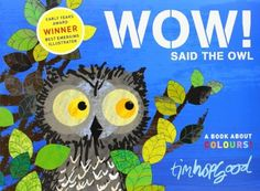 Owls and the color orange were two of my recent storytime themes. I did a fun preschool activity with the book Wow, Said the Owl. It's an engaging picture book about an owl that stays up during the… Toddler Storytime, Toddler Books, Childrens Books, Owl Books, Baby Books, Flannel Friday, Bird Theme, Bedtime Stories, Read Aloud