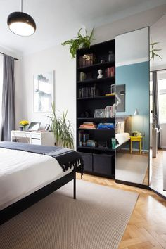 IKEA Saves Prague Apartment Renovation Budget - http://freshome.com/budget-prague-apartment/