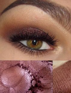 COFFEE BEAN- All Natural, Vegan Eyeshadow Makeup