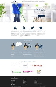 Het vernieuwde website ontwerp van Raynell is goedgekeurd door de klant. #website #webdesign #websitedevelopment #websitelatenmaken Identity, Website, Personal Identity