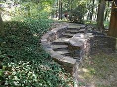 Image result for artistic retaining wall concrete steps
