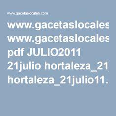 www.gacetaslocales.com pdf JULIO2011 21julio hortaleza_21julio11.pdf Madrid, Pdf, Personality