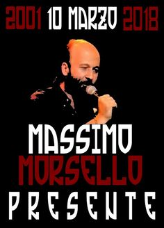 """AVANGUARDIA NAZIONALE BERGAMO: """"SCUSATE MA NON POSSO VENIRE """" MASSIMO MORSELLO, P..."""