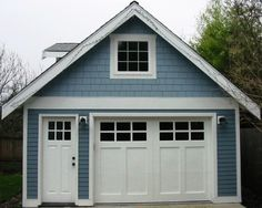 Hand-Made Custom Wood Garage Doors and REAL Carriage House Doors by Vintage Garage Door, LLC of Seattle, WA.
