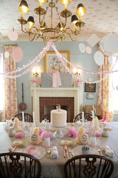 Vintage Tea Party Ideas & Decorations