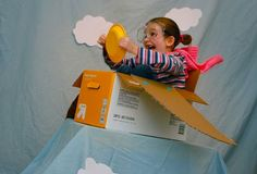 This weekend we used our Makedo kits to build planes from empty diaper boxes! The girls had great fun as flying aces! Oh, the excitement!! The adventure!!! They soared so high! It was death-defying!! Check out the look on Clara's face after coming out of a loop!! Have fun!! Congratulations to Martha (comment #348, chosen …