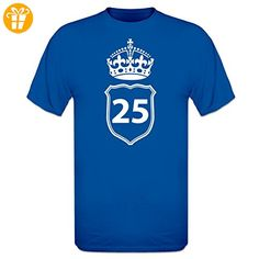 25 Years Crown T-Shirt by Shirtcity - Shirts zum geburtstag (*Partner-Link)
