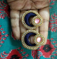 Silk Thread Bangles, Thread Jewellery, Diy Jewellery, Jewelry, Ear Rings, Hand Embroidery, Gemstone Rings, Colorful, Gemstones