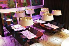 Nordic Light Hotel by architect Rolf Löfvenberg Interior Decorating, Decorating Ideas, Interior Design, Nordic Lights, Bar Lounge, Outdoor Furniture Sets, Outdoor Decor, Bar Lighting, Wines
