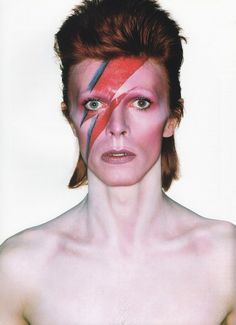 Happy birthday to the legendary David Bowie! Throughout his forty-plus-year career (glam rock to folk, soul to new wave) Bowie has never failed to impress us with his kaleidoscopic closet and makeup and hairstyles. At 67, Bowie proves that he is still the coolest chameleon in the world.