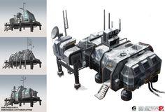 Arctic Base - Buildings by thirdeyepl.deviantart.com on @DeviantArt