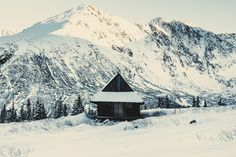 Cabin in High Tatras, Poland.  Photo by Adam Chrobak