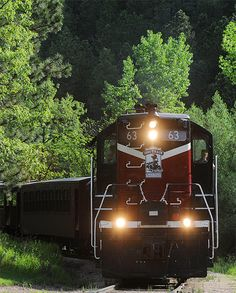 All Aboard! Don't miss out on seeing the scenes aboard the historic 1880 Train in the Black Hills of South Dakota.
