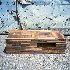 If I had known I could throw together a bunch of wood scraps into a table shape and sell it for $2,000 then I would have done this a long time ago!