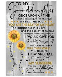 Sunflower canvas poster to my daughter never forget that i love you your way back home life gave me the gift of you with love & kisses mun My Children Quotes, Quotes For Kids, Family Quotes, Wisdom Quotes, Words Quotes, Me Quotes, Qoutes, Quotations, Quotes About Grandchildren