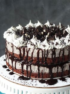With this OREO Cookies and Cream Ice Cream Cake, you'll enjoy every sweet, chocolatey bite. Perfect for parties - just make sure to grab a slice before it's all gone!