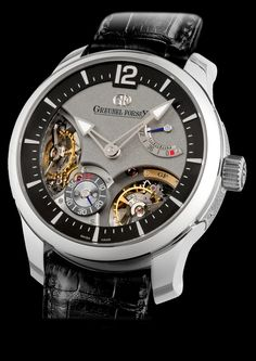 Double Balancier 35° by GREUBEL FORSEY watch on Presentwatch.com