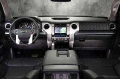 New Toyota Tundra interior changes