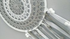 Doilies, Dream Catcher, Macrame, Knit Crochet, Knitting, Crafts, Home Decor, Crocheting, Women's Fashion