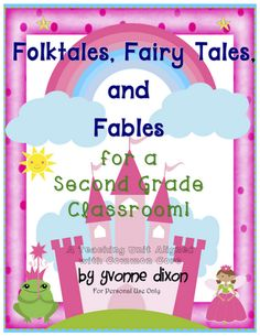 Sassy in Second: Fairy Tale Fun! - Also has links/ideas for other content areas to use with unit