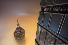 Russian Daredevils Climb to the Top of The Shanghai Tower, The World's Second Tallest Building