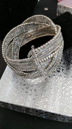 """This+stunning+piece+is+called+""""Winter+Silver+Vintage+Bracelet+Priceless""""+there+is+no+other+that+we+have+seen!+One+of+a+kind+and+absolutely+gorgeous!"""