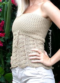 Crochet Top Pattern | Beautiful Crochet Stuff