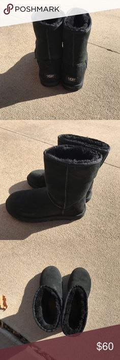 Ugg Boots Black Ugg Boots UGG Shoes Winter & Rain Boots