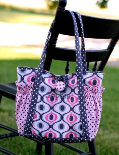 Easy Diaper Bag Patterns | Diaper bag/Satchel - PURSES, BAGS, WALLETS