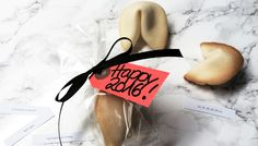 Glückskekse | Geschenke aus der Küche | Fortune cookies | gifts from the kitchen #glückskekse #happy2016 #fortunecookies
