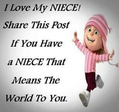 I love my neice! Happy 12th Birthday, Birthday Wishes For Kids, Birthday Quotes, I Love My Niece, Love Her, Neices Quotes, Minions Quotes, Holiday Wishes, Some Words