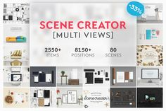 Scene Creators Bundle by Qeaql on @creativemarket